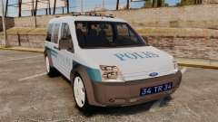 Ford Transit Connect Turkish Police [ELS]