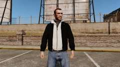 Black leather jacket for GTA 4