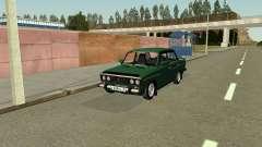 VAZ 2106 green for GTA San Andreas