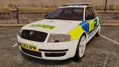 Skoda Superb 2006 Police [ELS] Whelen Justice