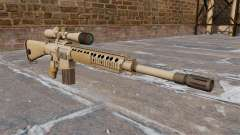 The M110 SASS sniper rifle