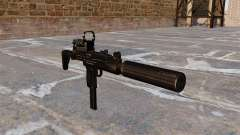 Uzi submachine gun Tactical for GTA 4