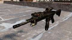 Automatic Colt M4A1 carbine for GTA 4