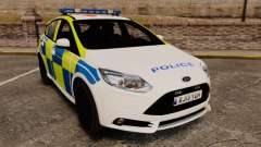 Ford Focus 2013 Uk Police [ELS]