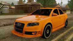 Audi RS4 sedan for GTA San Andreas