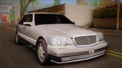 Mercedes-Benz S600 V12 Custom for GTA San Andreas