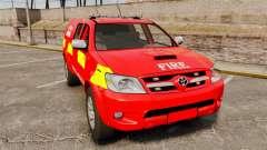 Toyota Hilux London Fire Brigade [ELS]