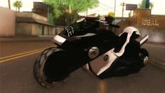 CopBike Alien City for GTA San Andreas