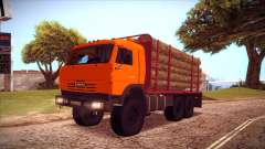 KAMAZ 54115 timber carrier