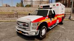 Ford F-350 2013 FDNY Ambulance [ELS]