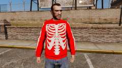 Red Sweater-skeleton-
