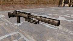 The M14 semi-automatic rifle