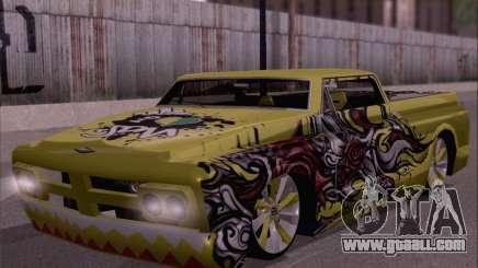 New Slamvan for GTA San Andreas