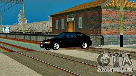 LADA 2112 Coupe green Sandpiper for GTA San Andreas