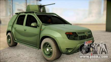 Dacia Duster Army Skin 1 for GTA San Andreas