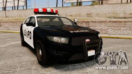 GTA V Vapid Police Interceptor LSPD for GTA 4