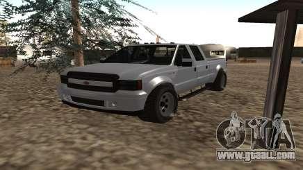 Sadler of GTA 5 for GTA San Andreas