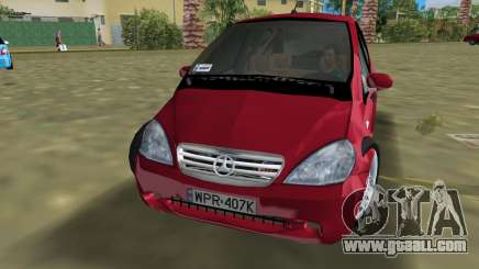 Mercedes-Benz A-Class for GTA Vice City