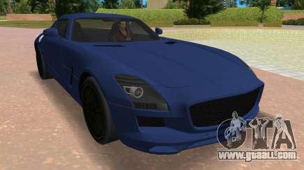 Mercedes-Benz SLS AMG V12 for GTA Vice City