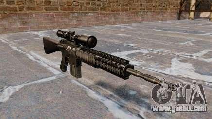Sniper rifle Armalite AR-10 for GTA 4