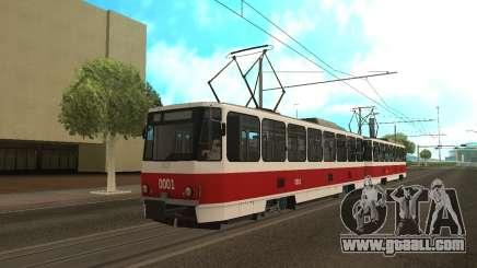 Tatra T6B5 for GTA San Andreas