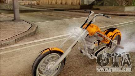 Sons Of Anarchy Chopper Motorcycle for GTA San Andreas