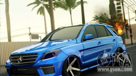 Mercedes-Benz ML63 AMG for GTA San Andreas