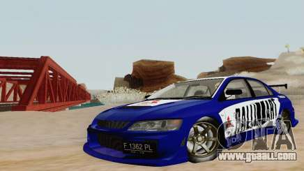 Mitsubishi Lancer EVO VIII MR GSR WMMT for GTA San Andreas