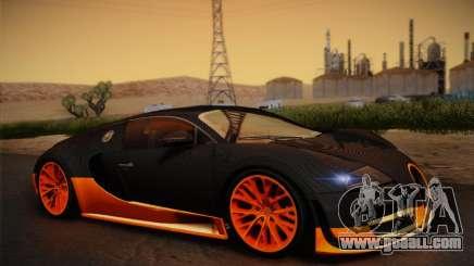 Bugatti Veyron Super Sport World Record Edition for GTA San Andreas