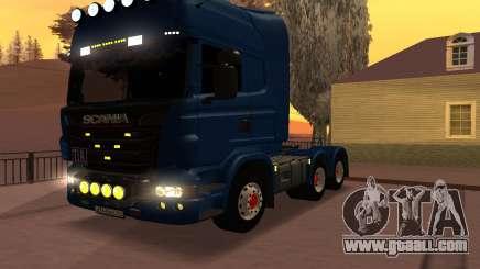 Scania Topline R730 V8 for GTA San Andreas