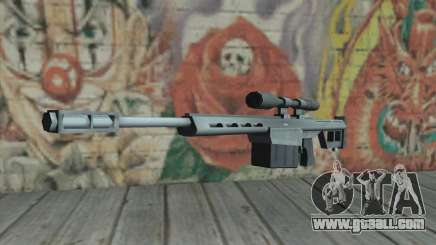 Sniper rifle from the Saints Row 2 for GTA San Andreas