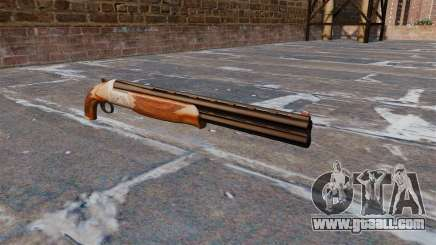 Double barrel shotgun for GTA 4