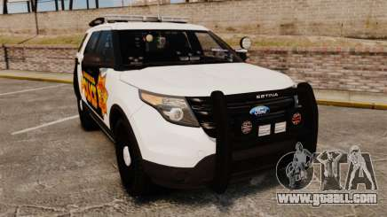 Ford Explorer 2013 Longwood Police [ELS] for GTA 4