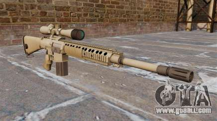 The M110 SASS sniper rifle for GTA 4