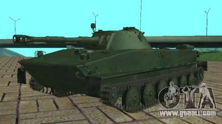 PT-76 for GTA San Andreas