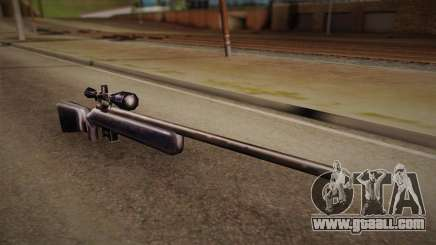 Sniper rifle from Max Payn for GTA San Andreas