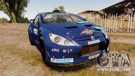 Peugeot 307 WRC for GTA 4