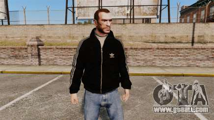 Olimpijka-black Adidas Originals- for GTA 4