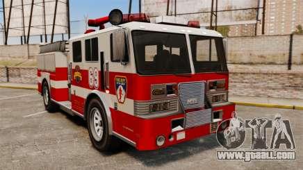 Fire truck for GTA 4
