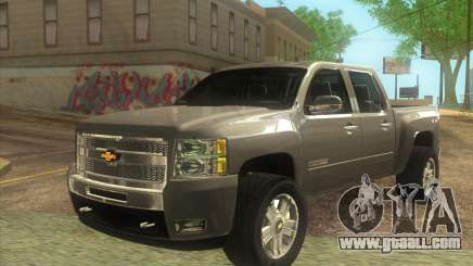 Chevrolet Cheyenne LT 2012 for GTA San Andreas