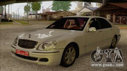Mercedes-Benz W220 S500 4matic for GTA San Andreas