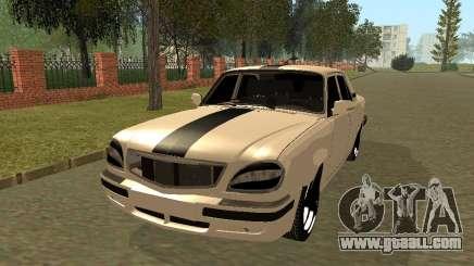 GAZ 31105 Volga Black Stripe for GTA San Andreas