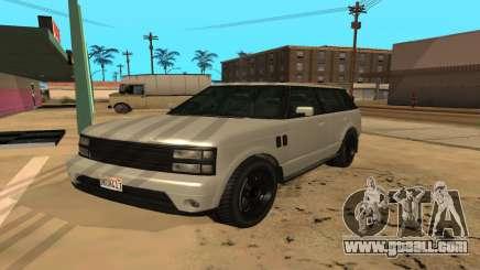 Baller GTA 5 for GTA San Andreas