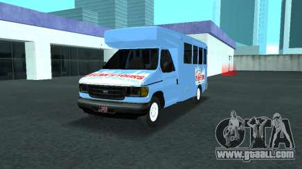 Ford Shuttle Bus for GTA San Andreas