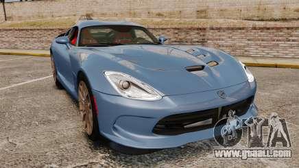 Dodge Viper SRT TA 2014 Rebuild for GTA 4