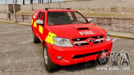 Toyota Hilux London Fire Brigade [ELS] for GTA 4
