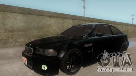 BMW M3 e46 Duocolor Edit for GTA San Andreas