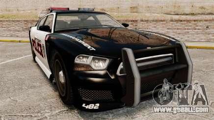 GTA V Bravado Buffalo Supercharged LCPD for GTA 4