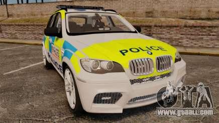 BMW X5 Police [ELS] for GTA 4