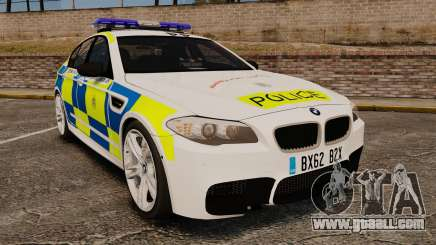 BMW M5 Marked Police [ELS] for GTA 4